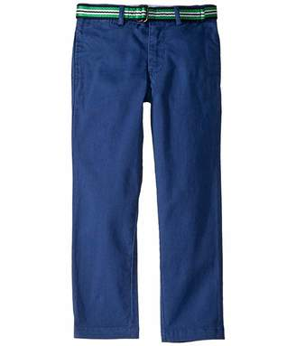 Polo Ralph Lauren Belted Stretch Skinny Chino (Little Kids)