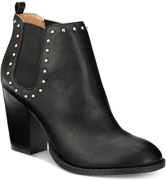 Report Maysonia Studded Chelsea Booties $69 thestylecure.com