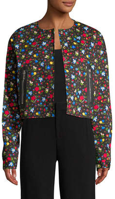 Love Moschino Floral Print Jacket