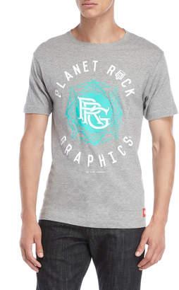 Planet Rock Graphics Logo Graphic Tee