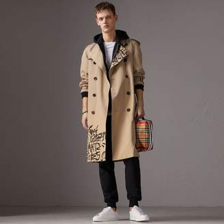 Burberry x Kris Wu Gabardine Trench Coat