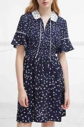 French Connection Retro Flared Dress