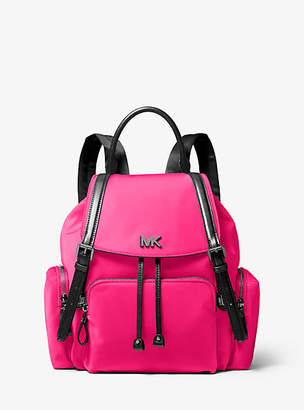 Michael Kors Beacon Medium Neon Nylon Backpack
