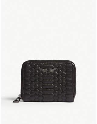 Zadig & Voltaire Matelasse leather wallet