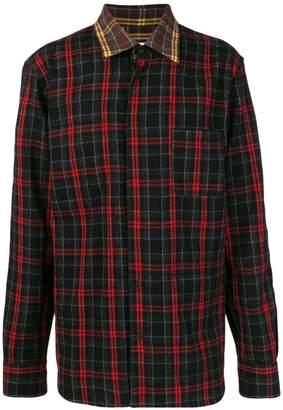 Marni checked button shirt