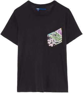 Atelier & Repairs Floral print chest pocket unisex T-shirt