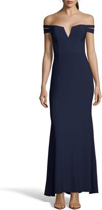 Xscape Evenings Off the Shoulder Evening Dress