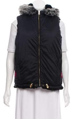 Obermeyer Faux Fur Sleeveless Vest