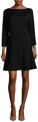 Carolina Herrera Women's A-Line Wool Dress
