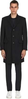 Ermenegildo Zegna Textured Beaver Wool Coat