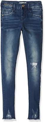 Name It Girl's Nkfpolly Dnmtori 3079 Pant Noos Jeans Dark Blue Denim, 164