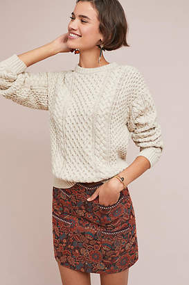 Frye Erin Fisherman Sweater