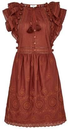 Sea Sofie Embroidered Cotton Dress