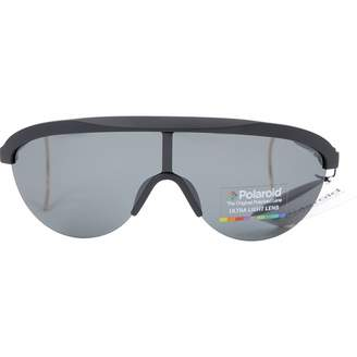 Polaroid Black Plastic Sunglasses