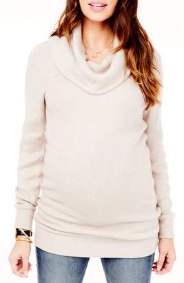 Ingrid & Isabel R) Cowl Neck Maternity Sweater