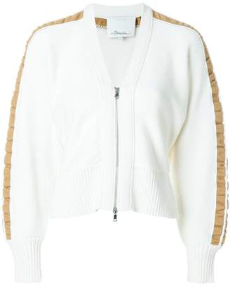 3.1 Phillip Lim contrast-sleeve cardigan