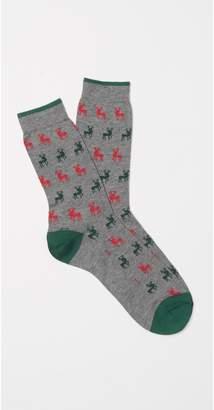 J.Mclaughlin Women's Reindeer Sock