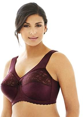 Glamorise Women's Plus Size Magic Lift Full-Figure Support Bra