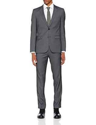 HUGO Men's Astian/hets184 Suit, (Bright Blue 434), (Size: 54)