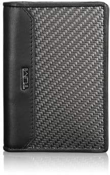 Tumi Carbon Fiber Gusseted Card Case