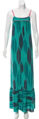 Twelfth Street By Cynthia Vincent Sleeveless Silk Maxi Dress