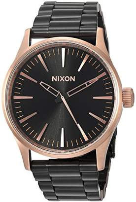 Nixon Women's 'Sentry 38 SS' Quartz Metal and Stainless Steel Watch