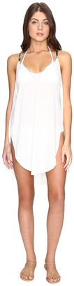 Lucky Brand Coastal Palms Tulip Side Dress Cover-Up $58 thestylecure.com