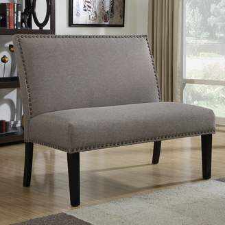 Prime Resources Intl. Banquette Nailhead Loveseat
