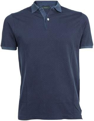 Zanone Polka Dot Polo Shirt