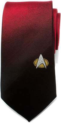 Cufflinks Inc. Cufflinks, Inc. Star Trek TNG Shield Silk Tie