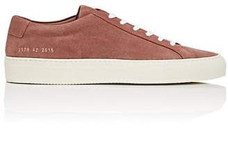Common Projects Men's Achilles Suede Sneakers - Rose