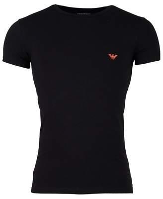 Emporio Armani Rear Eagle Logo Crew Neck T-shirt