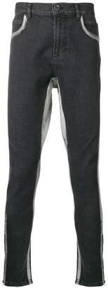 Di Liborio stripe detail skinny jeans