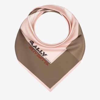 Bally (バリー) - ウィメンズ ピンクペタル シルク スカーフ