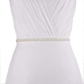 Azaleas Women's Pearls Bridal Bridesmaid Dresses Sash Belts