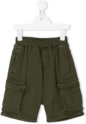 Finger In The Nose side pocket jogging shorts