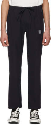 Needles Navy Ripstop Trousers