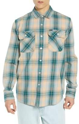 Obey Continental Plaid Flannel Shirt