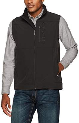 Cinch Men's Bonded Softshell Vest With Concealed Carry Pockets