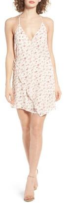 Women's Dee Elly Floral Print Wrap Dress $49 thestylecure.com