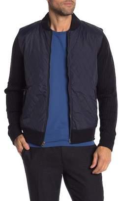 Weatherproof Quilted Varsity Jacket