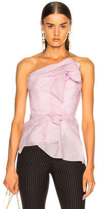 Roland Mouret Hankow Shell Organza Top