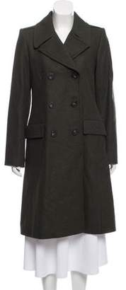 Theory Lebale Double-Breasted Coat w/ Tags