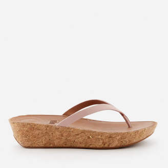 617b750d73a6 FitFlop Women s Linny Wedged Toe Post Sandals