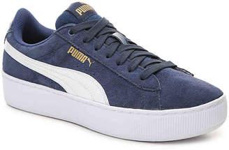 Puma Vikky Platform Jr. Youth Sneaker - Girl's