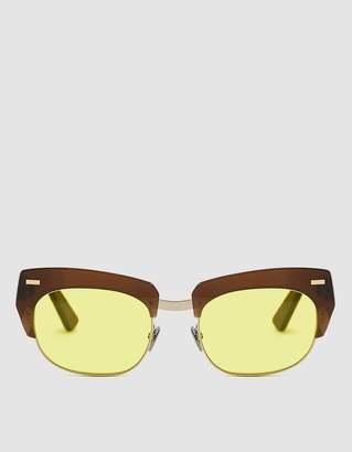 Acne Studios Isabela Half Frame Sunglasses
