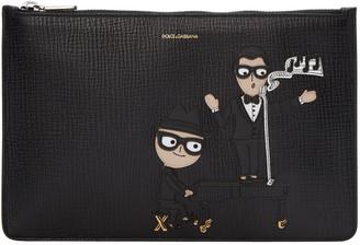 Dolce & Gabbana Black Piano & Singer Pouch $675 thestylecure.com