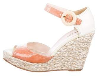 67b755ef6 Prada White Buckle Closure Women's Sandals - ShopStyle