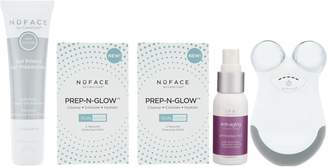 NuFace Mini Device with Leave-on Gel Prep&Glow Pads & Mist