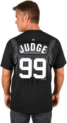Majestic Men's New York Yankees Aaron Judge Robe Tee